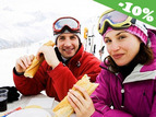 Reducere pentru serviciu de ski