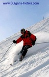 Skiers booking flights to Bulgaria experience better value