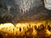 Cave tourism: Snezhanka cave with a new illumination system