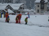British tourists in Bansko ski resort