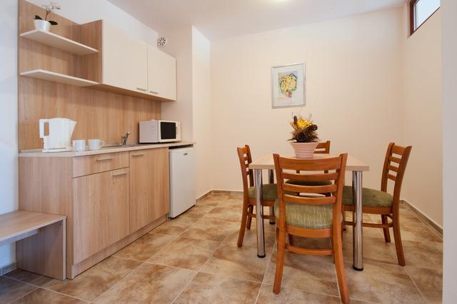 Hotel Karlovo - 2 Bedroom Apartment kitchenette