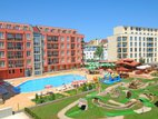 Rainbow Apartment complex, Sunny Beach
