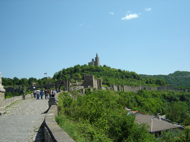 Tsarevets Hill – the fortress