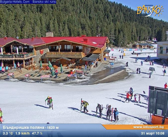 Ski conditions in bansko bulgaria webcam